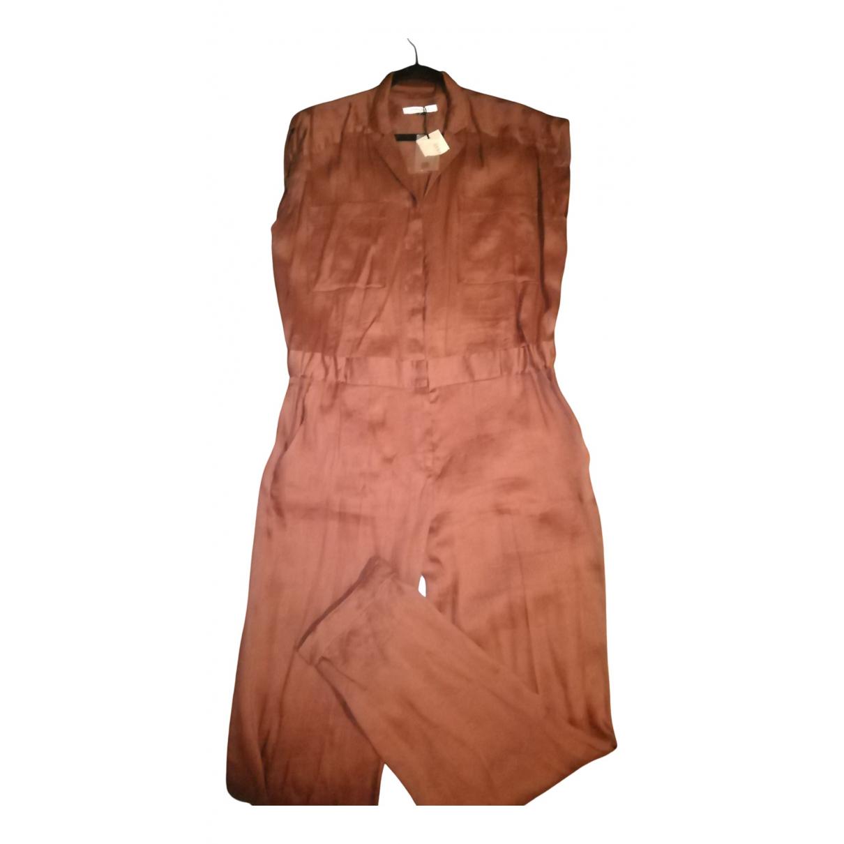 Gerard Darel - Combinaison   pour femme en lin - marron