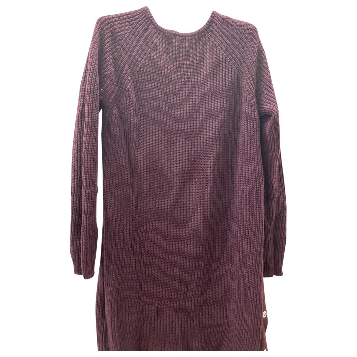 Twin Set N Burgundy Wool dress for Women M International