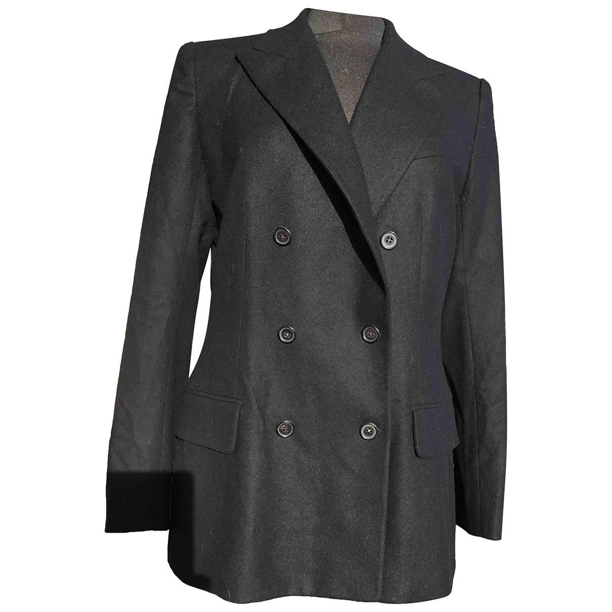 Hermès \N Black Wool jacket for Women 40 FR