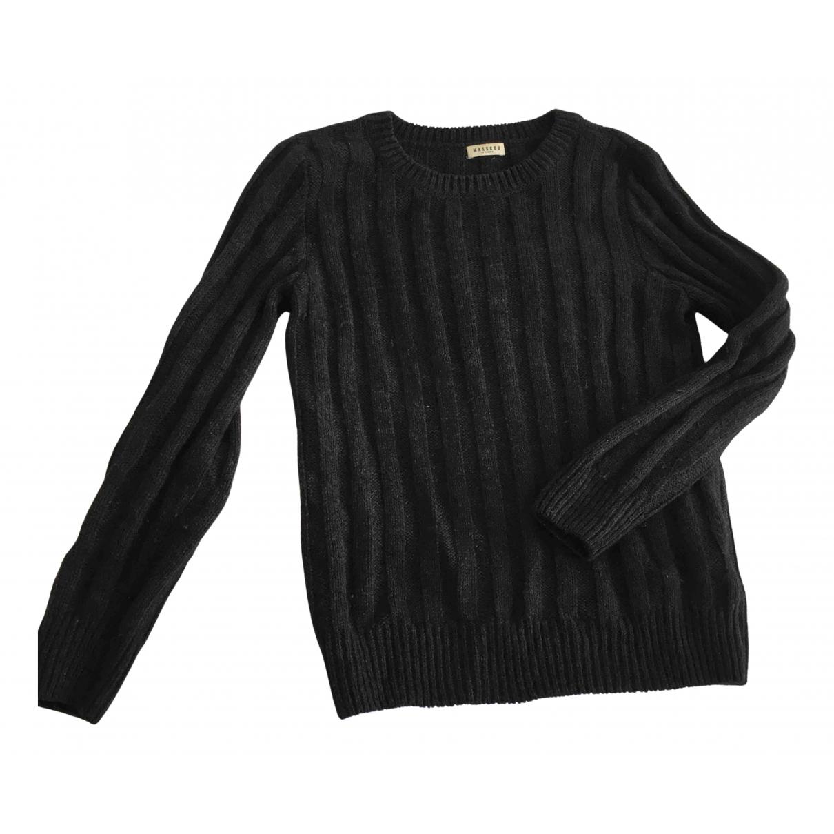 Masscob N Grey Wool Knitwear for Women 34 FR