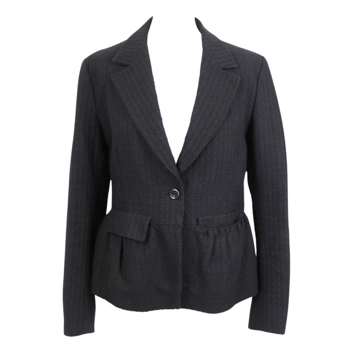 Dries Van Noten N Black Cotton jacket for Women L International