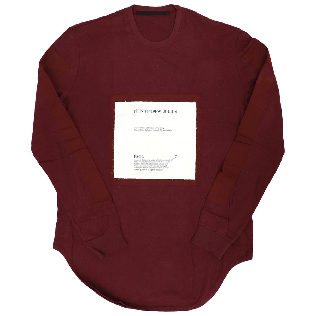 Julius 7 - Tee shirts   pour homme en autre - rouge