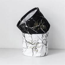 1 pieza cesta patron marmol