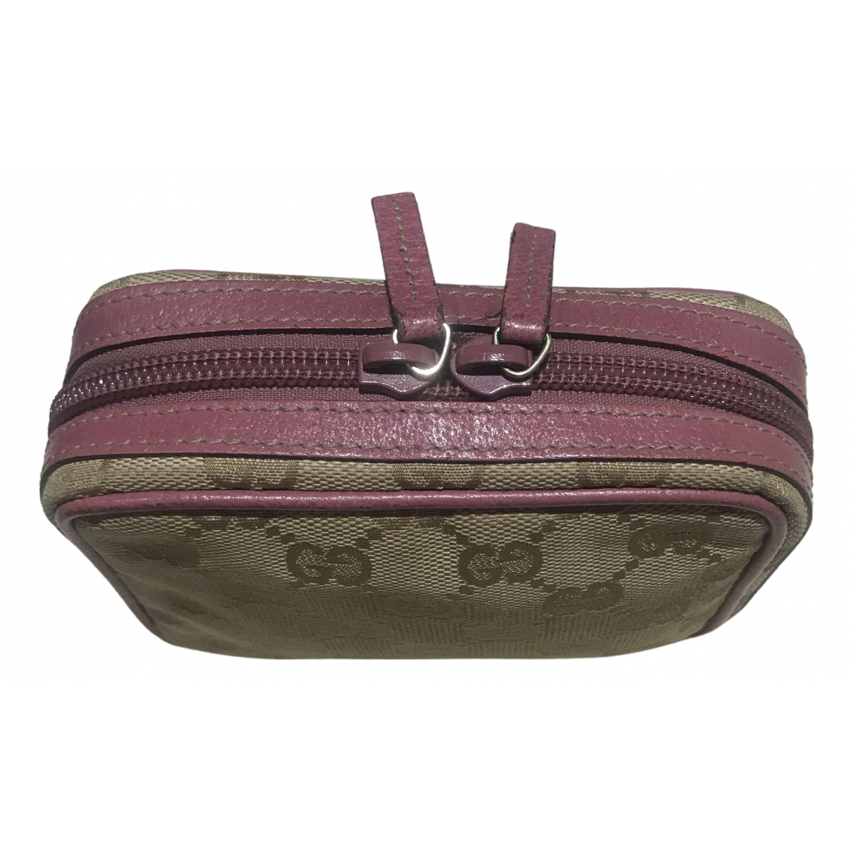 Gucci \N Pink Cloth Purses, wallet & cases for Women \N