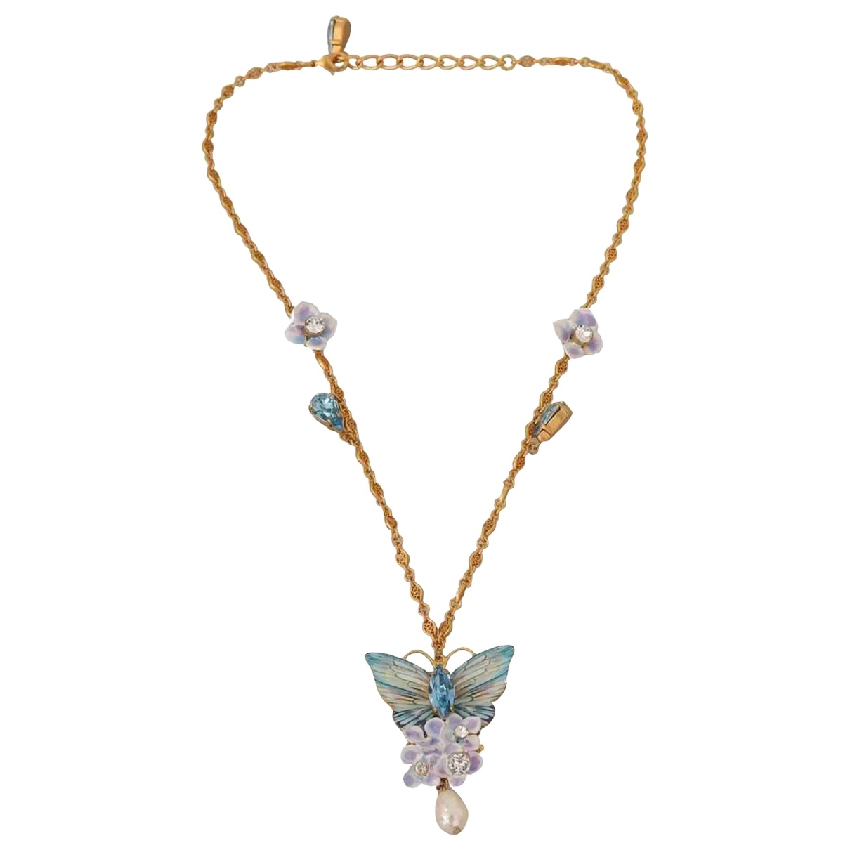 Dolce & Gabbana \N Green Metal necklace for Women \N