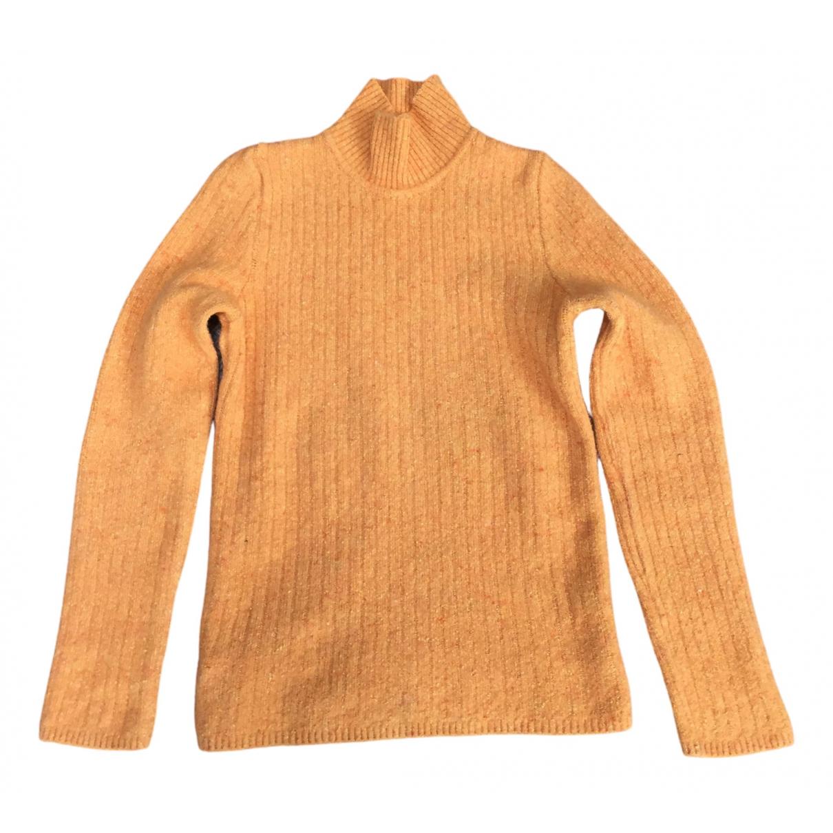 Sport Max - Pull   pour femme en laine - orange
