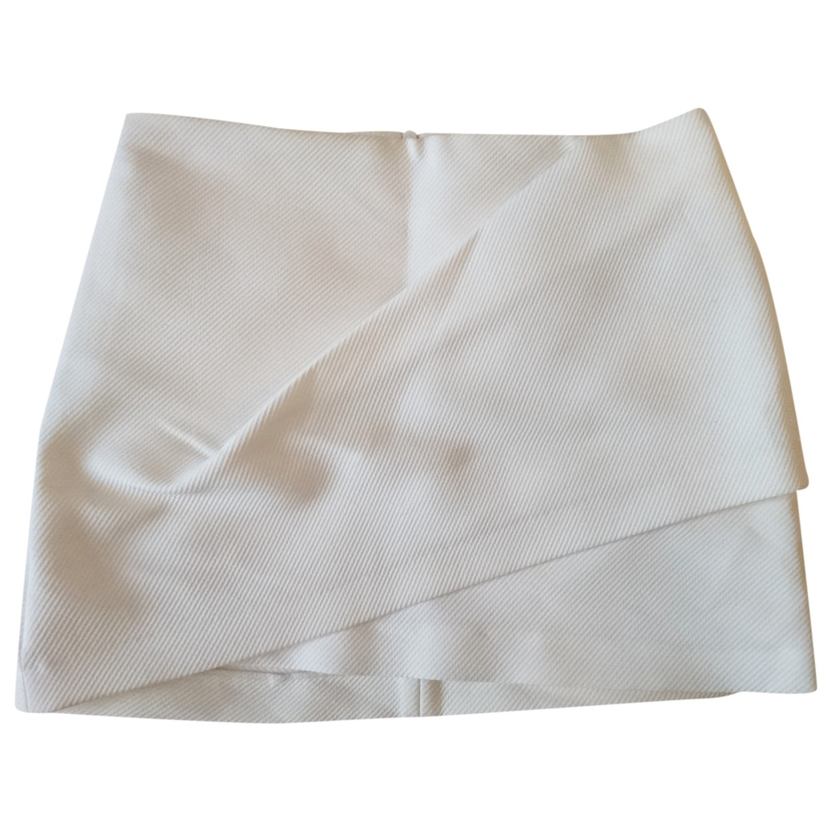 Zara \N Rocke in  Ecru Polyester