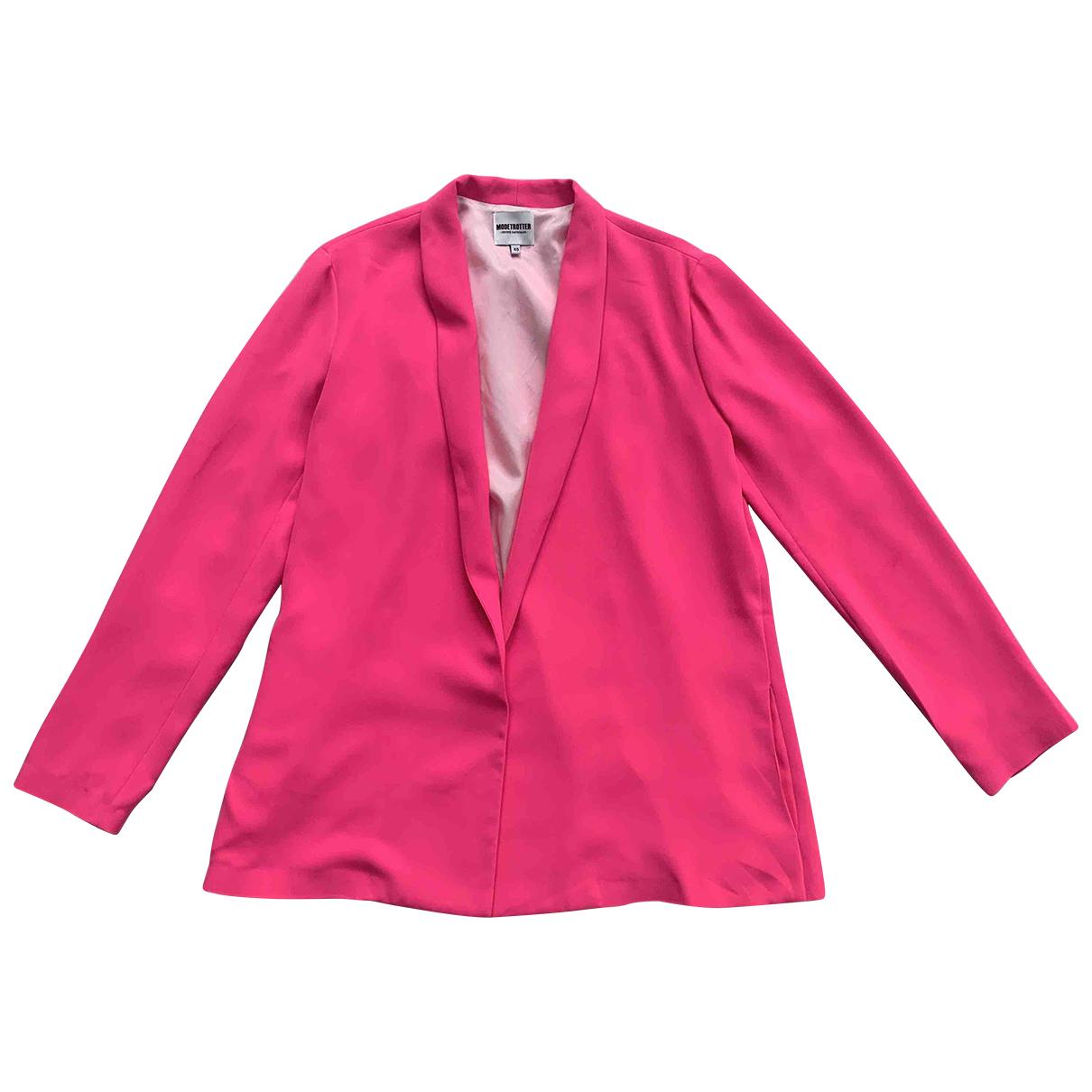 Modetrotter N Pink jacket for Women 40 FR