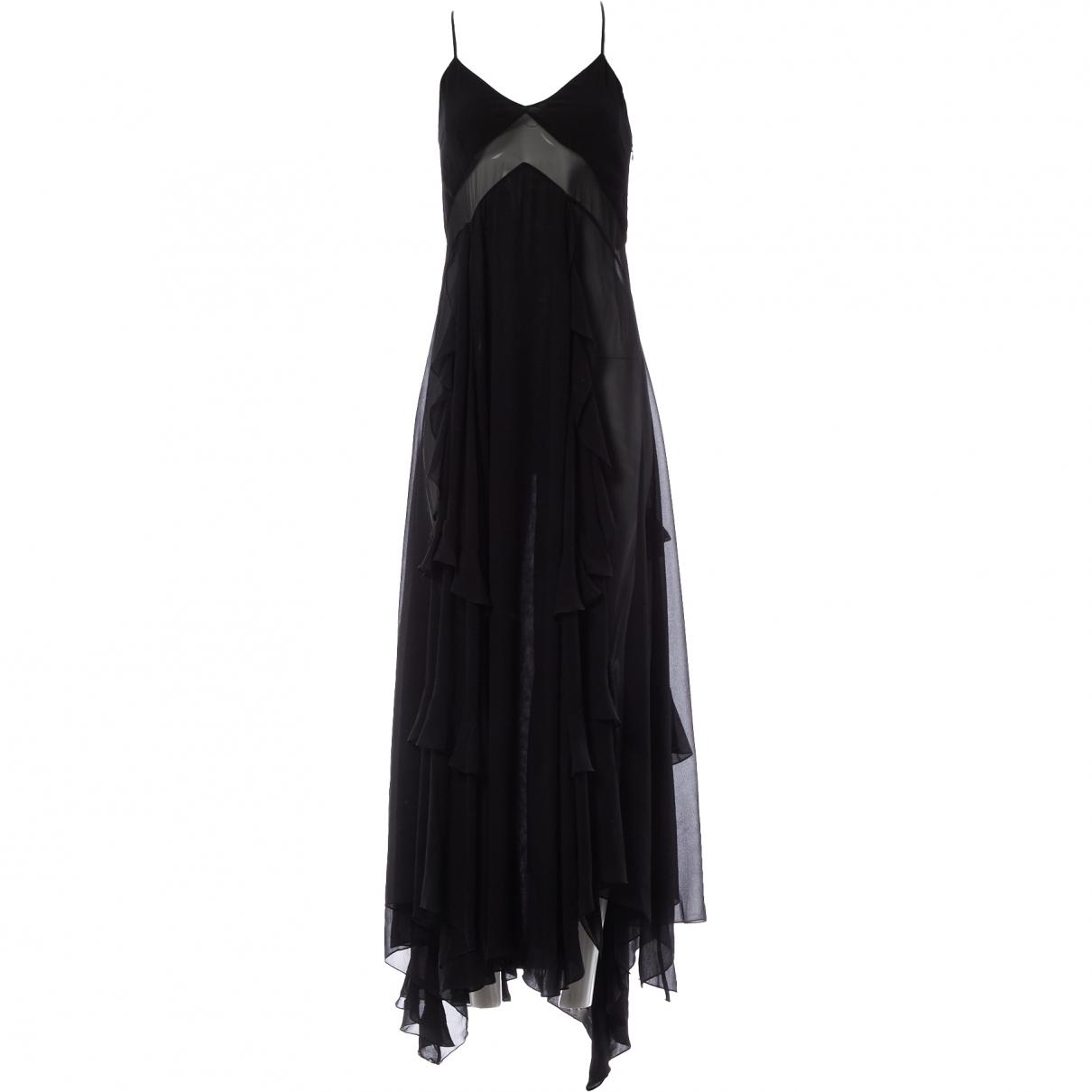 Givenchy \N Black Silk dress for Women 34 FR