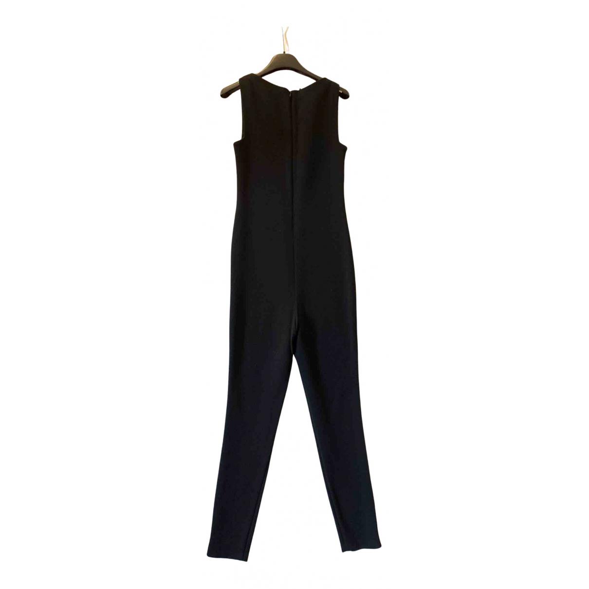 Neil Barrett N Black Wool jumpsuit for Women 40 IT