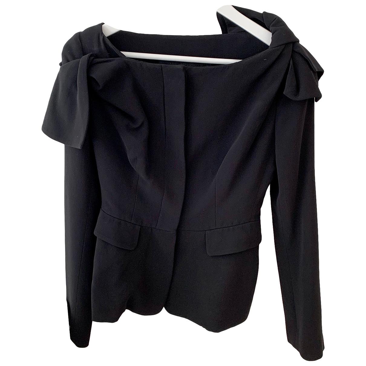 Burberry - Veste   pour femme en soie - noir