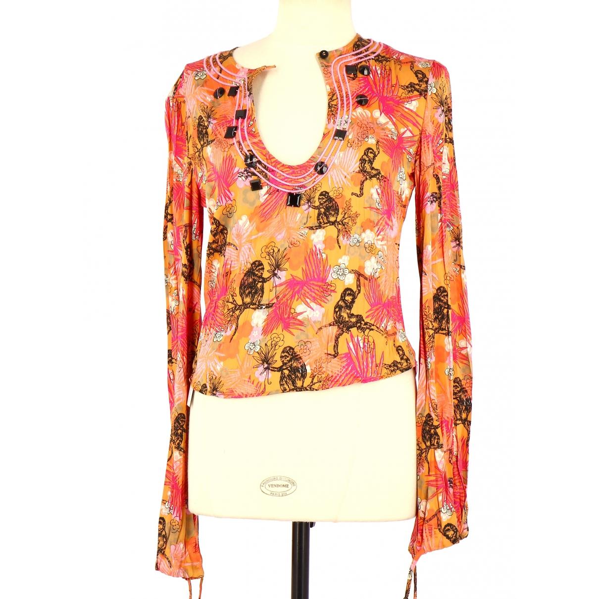 Non Signé / Unsigned \N Multicolour Cotton  top for Women 38 FR