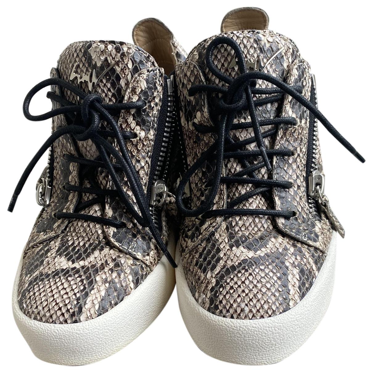 Giuseppe Zanotti Donna Sneakers in Leder