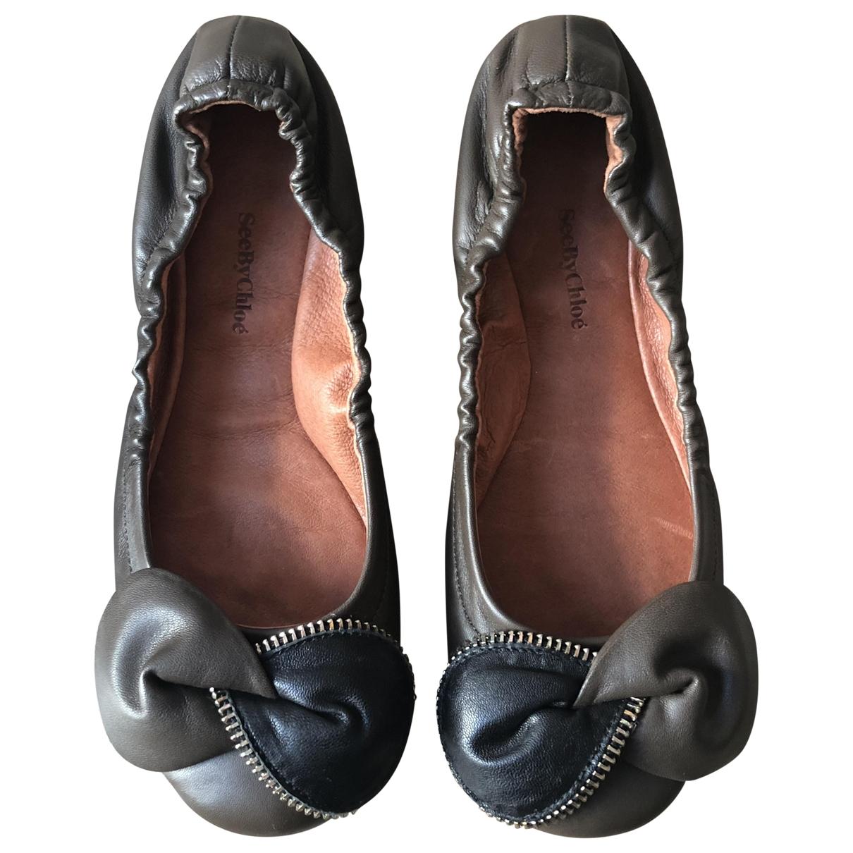 See By Chloe - Ballerines   pour femme en cuir