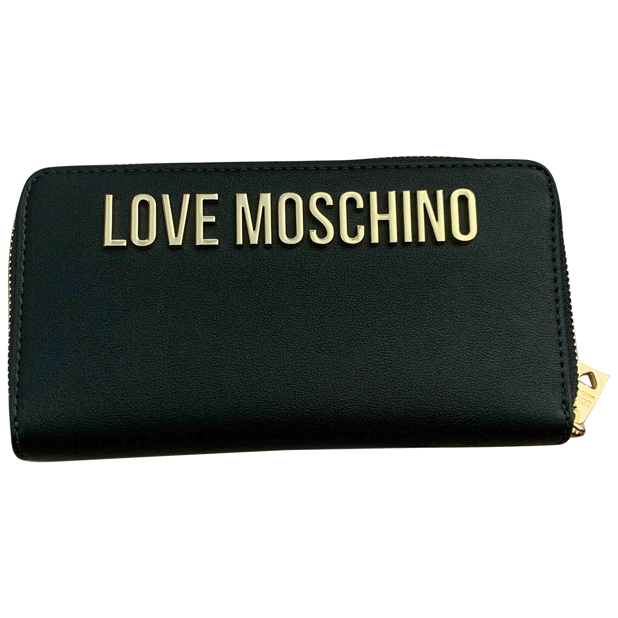 Cartera de Cuero Moschino Love