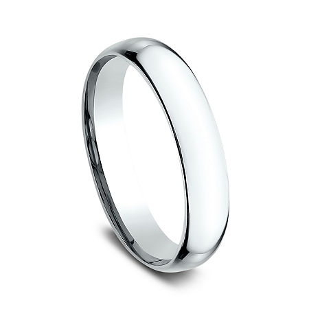 4MM 14K Gold Round Wedding Band, 13 , No Color Family