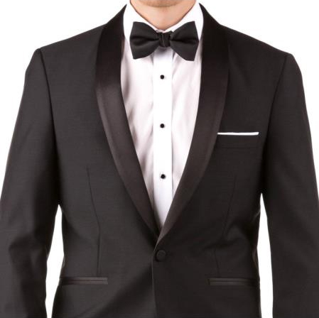 Slim Fit Shawl Lapel Groom & Groomsmen Wedding Suits & Tuxedo