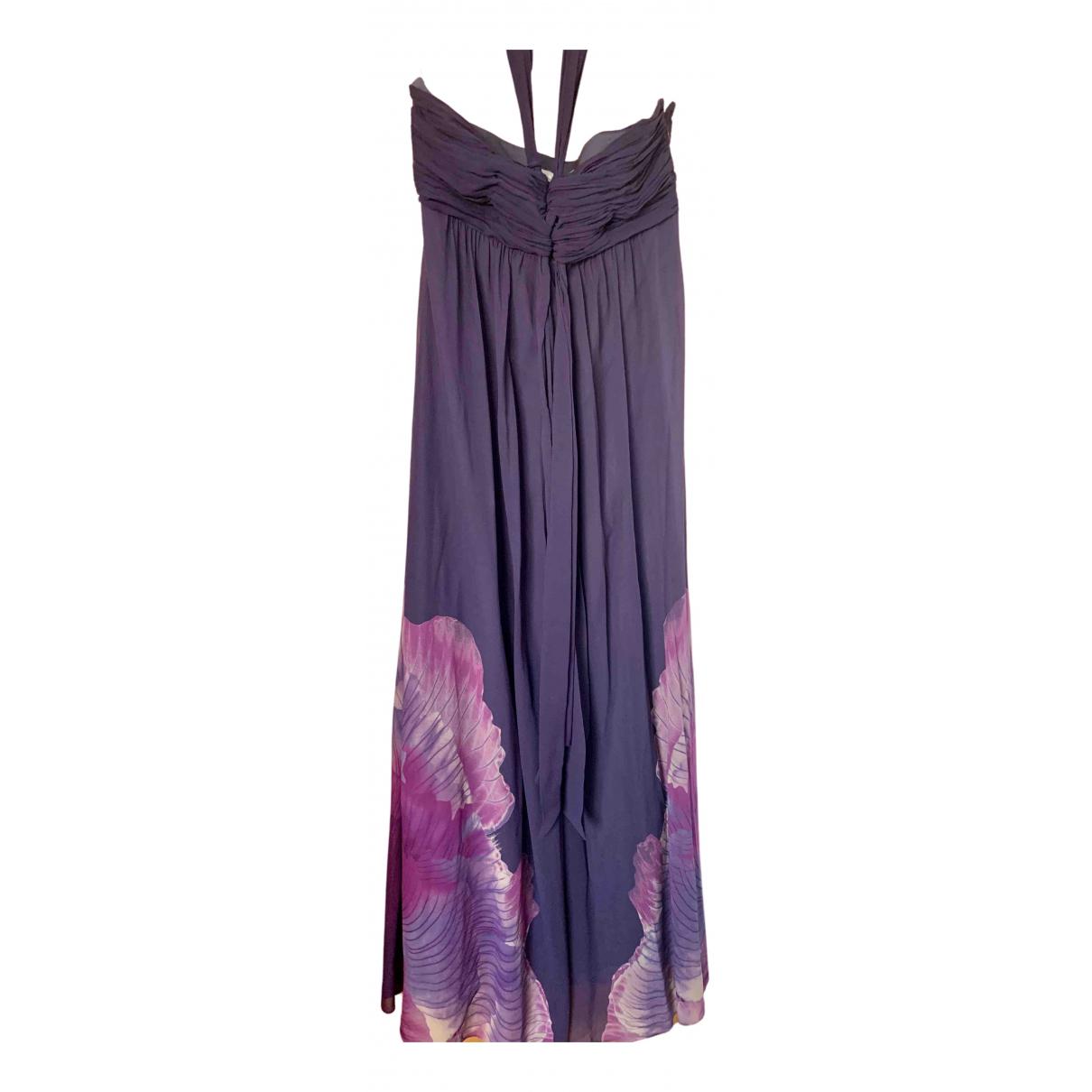 Karen Millen \N Kleid in  Lila Seide