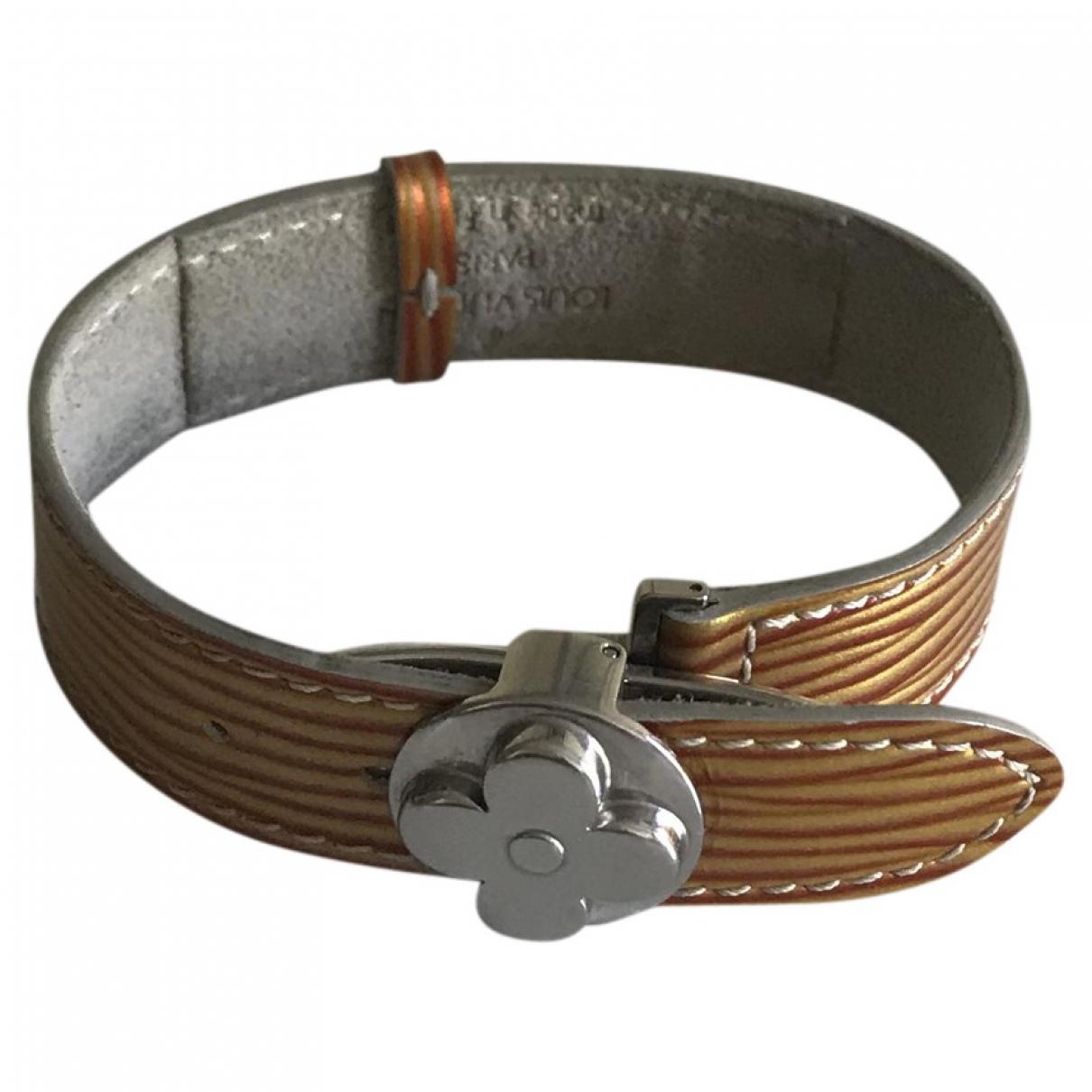 Louis Vuitton \N Orange Metal bracelet for Women \N