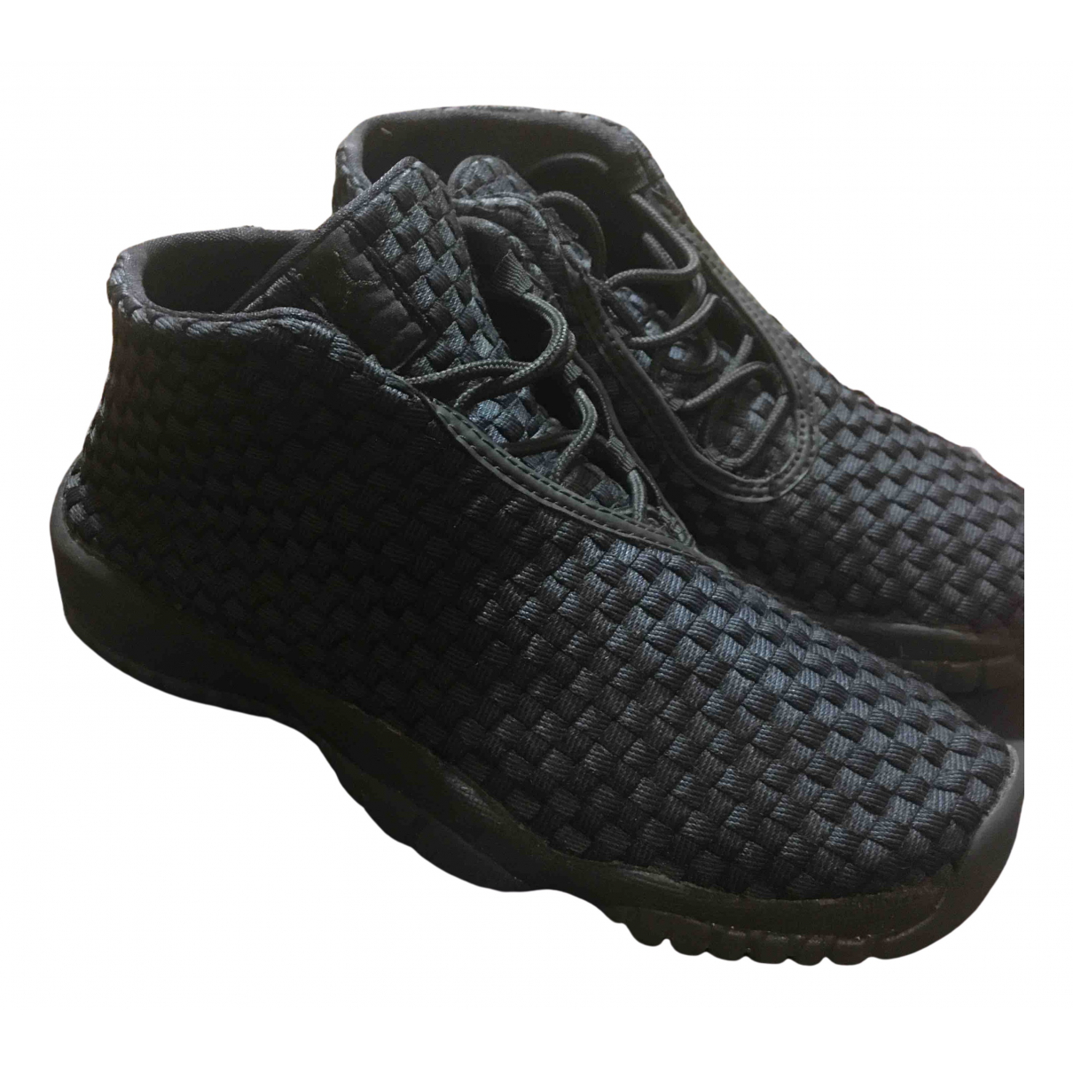 Jordan Air Jordan Future Sneakers in  Schwarz Kunststoff