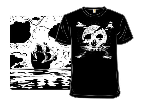 Pirate Moon T Shirt