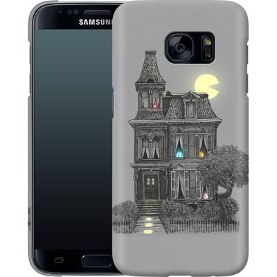 Samsung Galaxy S7 Smartphone Huelle - Haunted By The 80s von Terry Fan