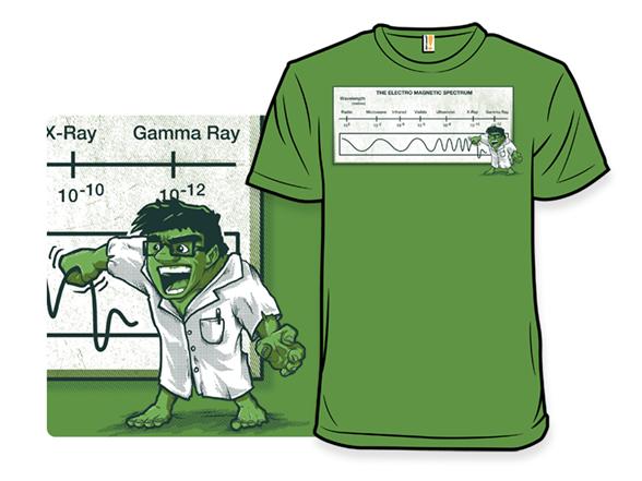 The Electromagnetic Spectrum T Shirt
