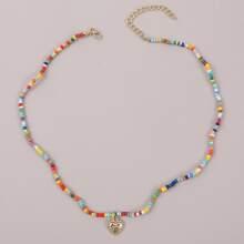 Halskette mit Herzen Anhaenger