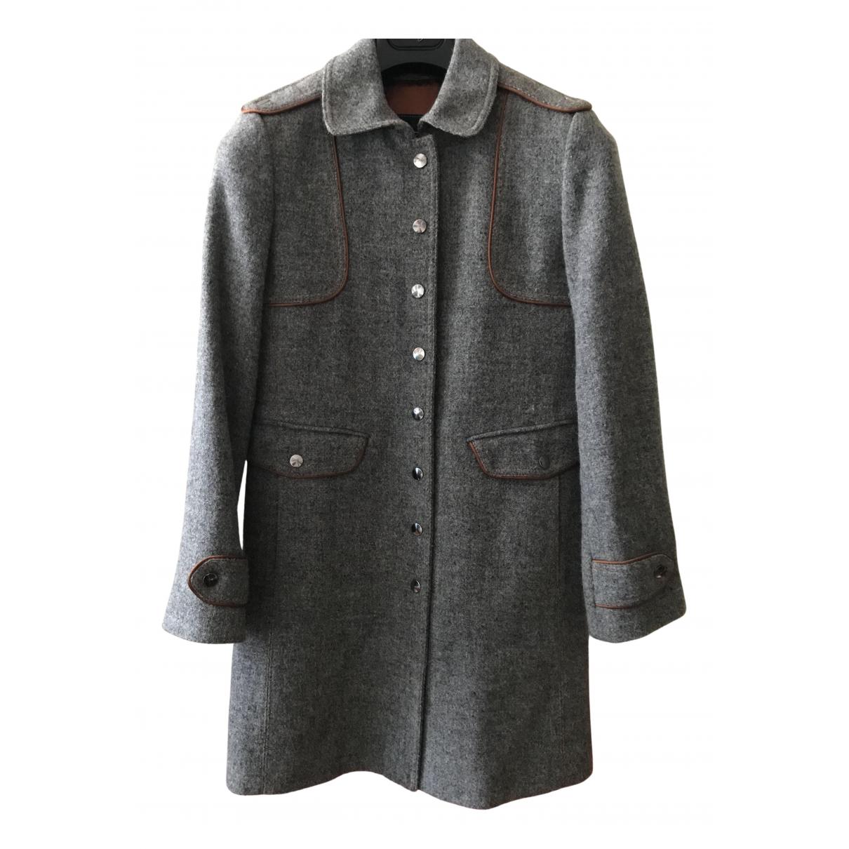 Fay - Manteau   pour femme en laine - gris