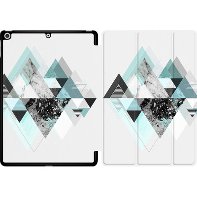 Apple iPad 9.7 (2018) Tablet Smart Case - Graphic 110 - Turquoise von Mareike Bohmer