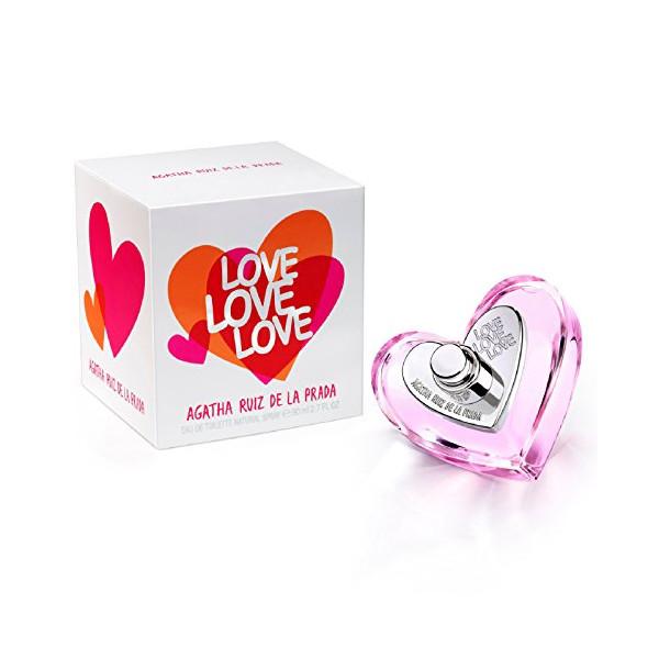 Love - Agatha Ruiz De La Prada Eau de Toilette Spray 80 ml