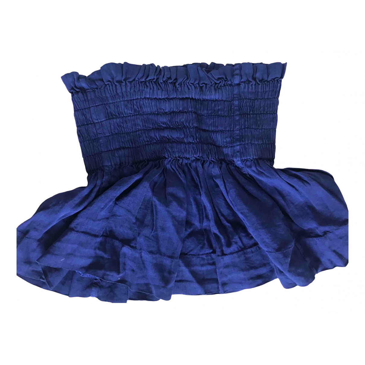 Isabel Marant Etoile \N Rocke in  Blau Baumwolle