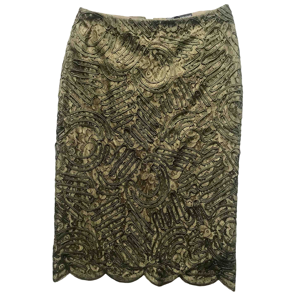 Dolce & Gabbana \N Khaki skirt for Women 42 IT