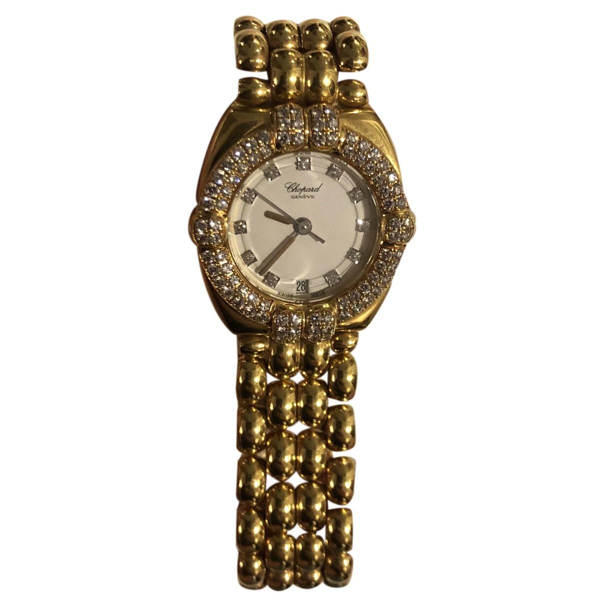 Chopard - Montre Happy Sport pour femme en or jaune - dore