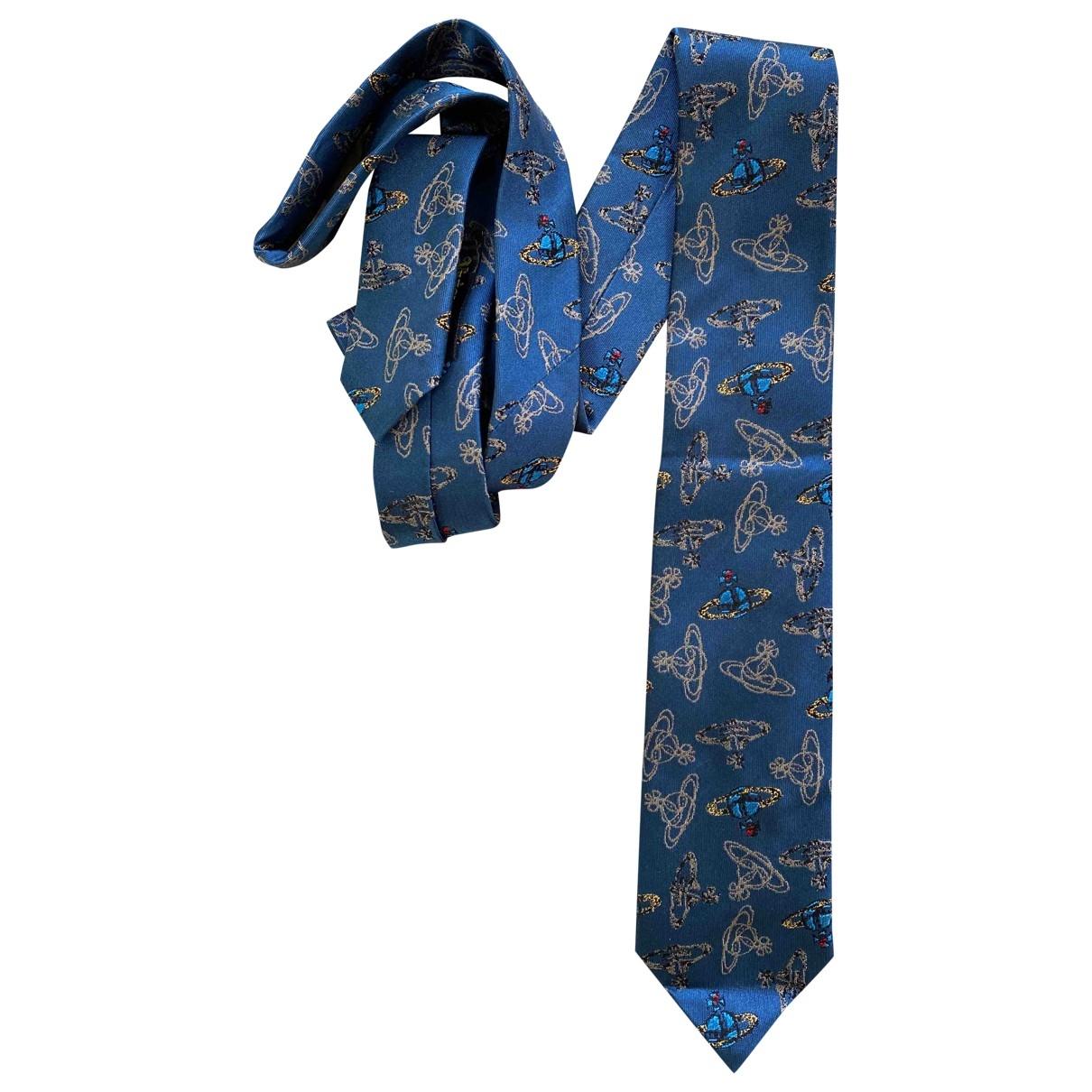 Vivienne Westwood \N Blue Silk Ties for Men \N