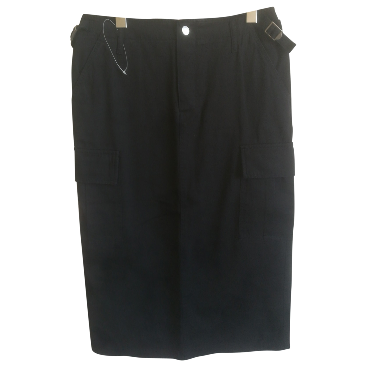 Moschino \N Black Cotton skirt for Women 44 IT