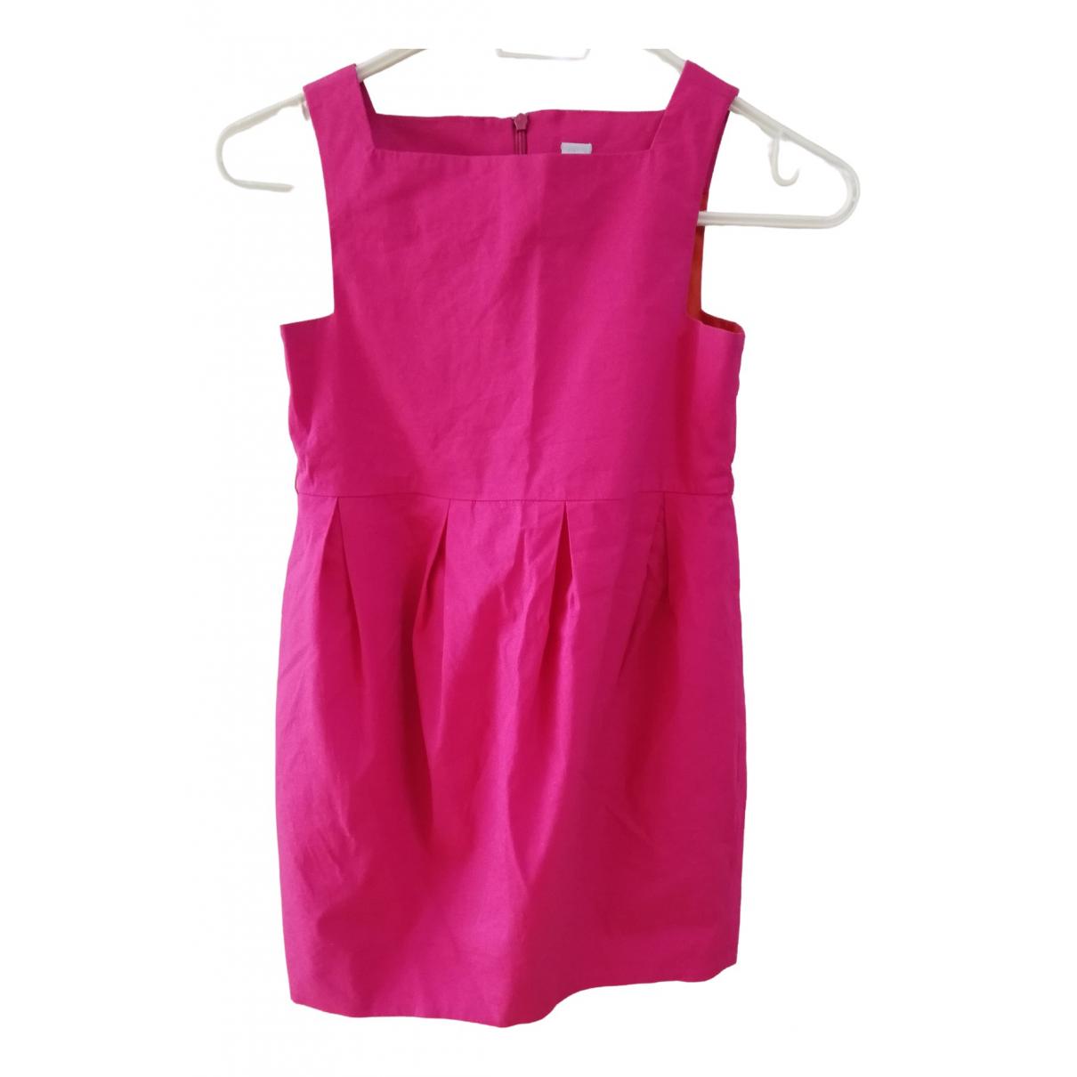 Zara \N Kleid in  Rosa Baumwolle - Elasthan