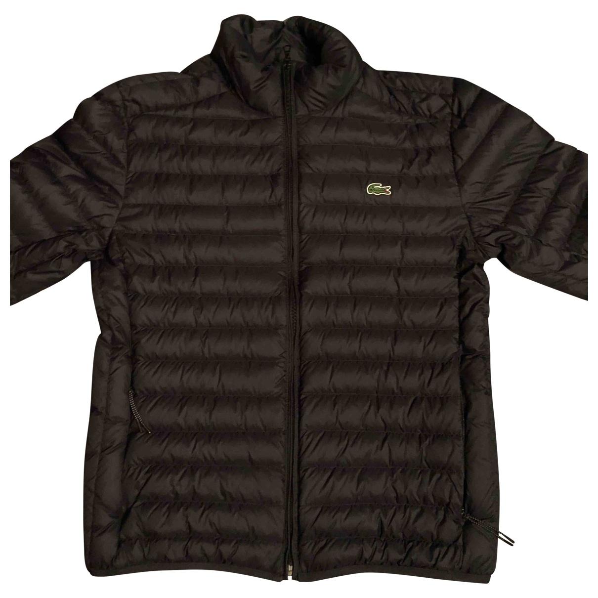 Lacoste - Manteau   pour homme - noir
