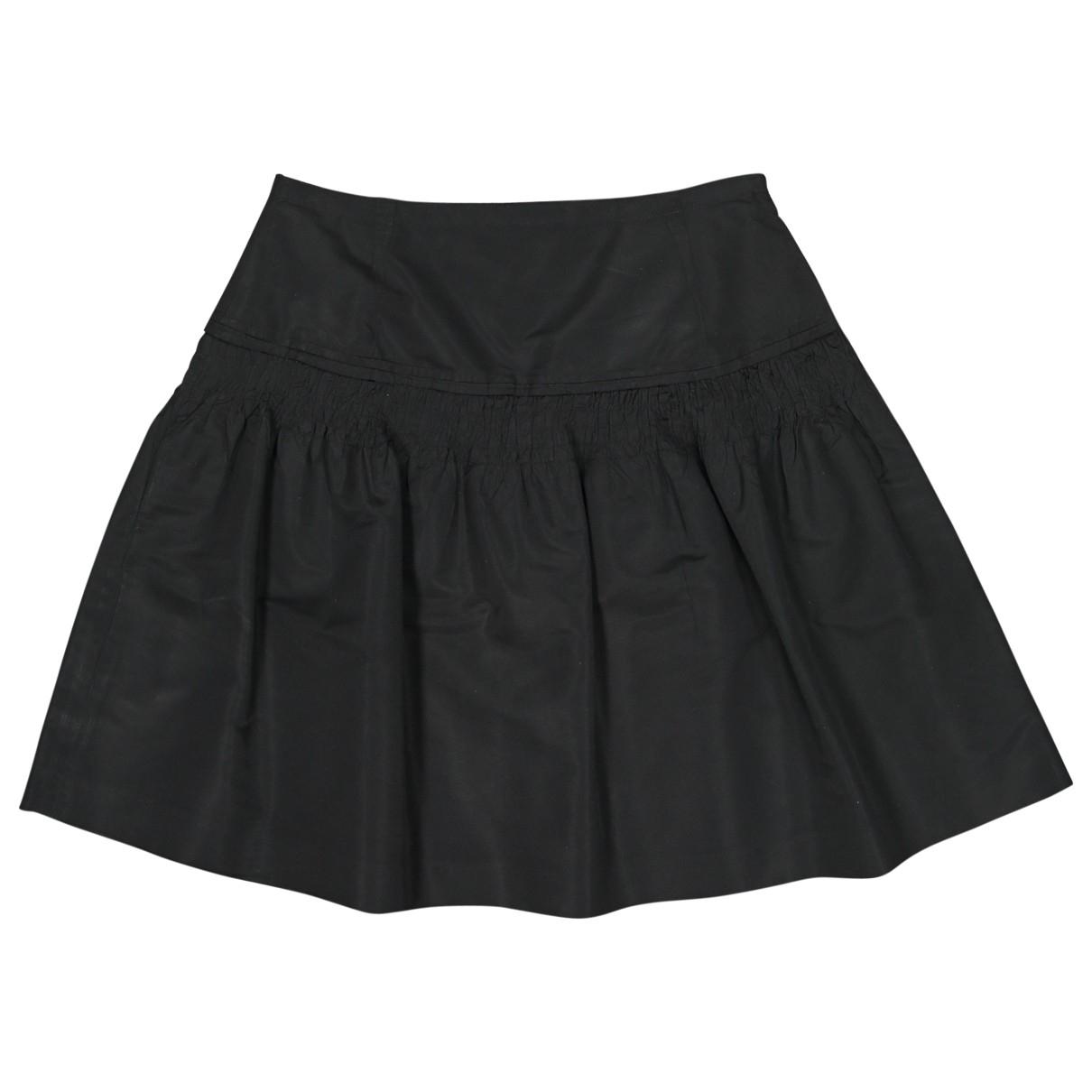 Miu Miu \N Rocke in  Schwarz Polyester