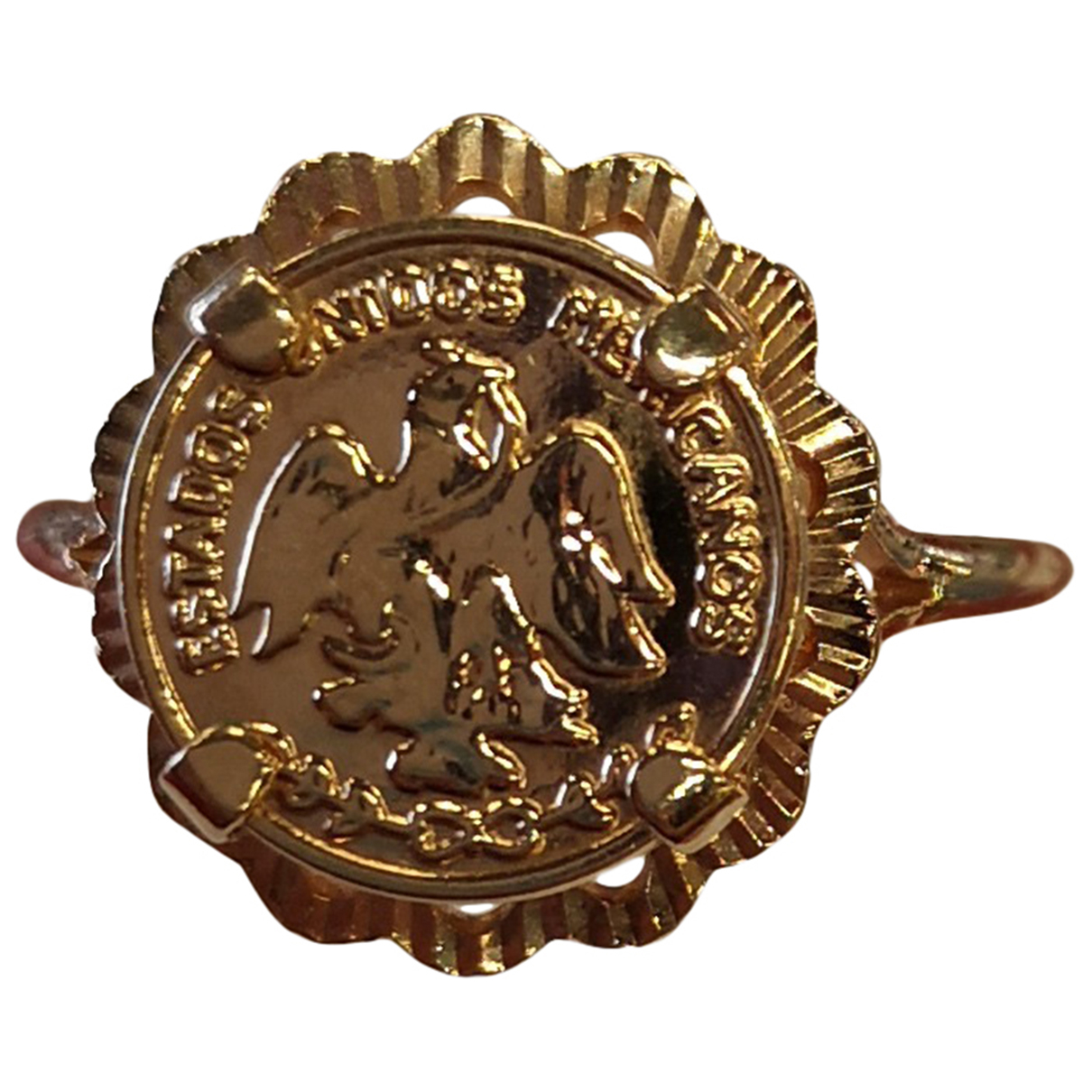 - Bague Medailles pour femme en plaque or - jaune
