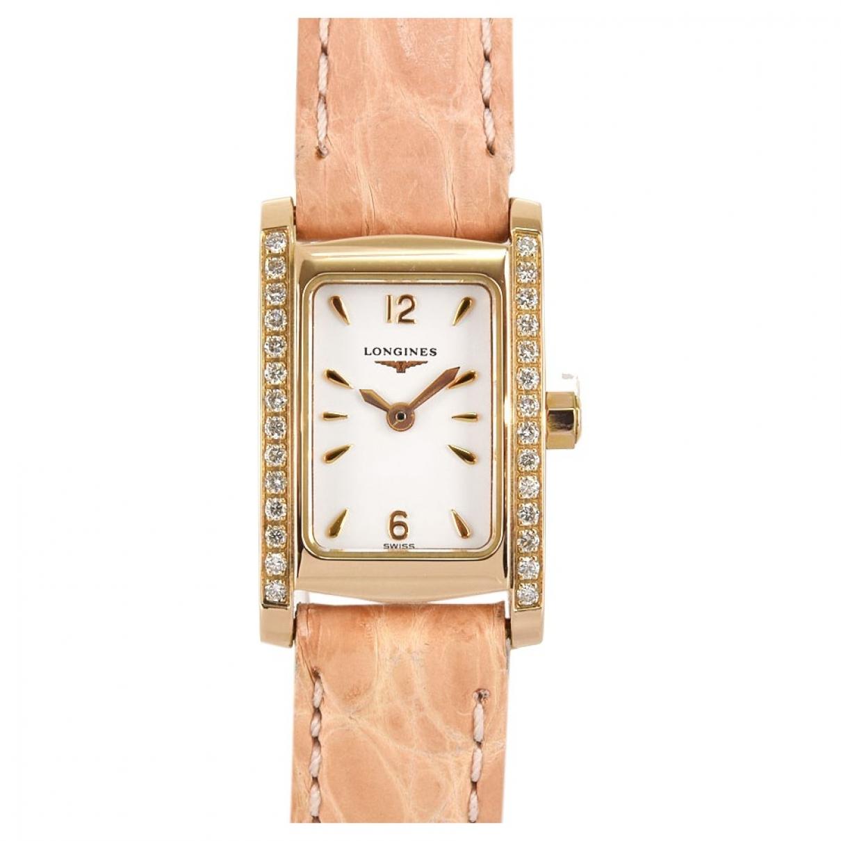 Reloj de Oro rosa Longines