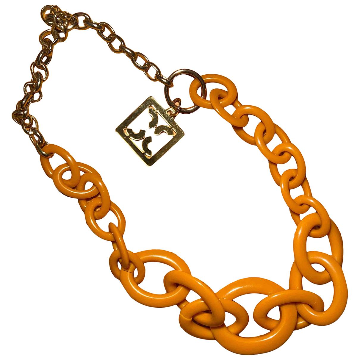 Coccinelle \N Kette in  Orange Kunststoff