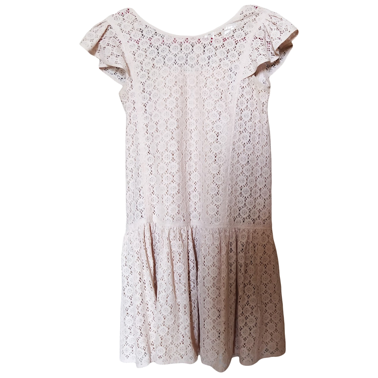 Massimo Dutti \N Pink Cotton dress for Kids 14 years - S FR
