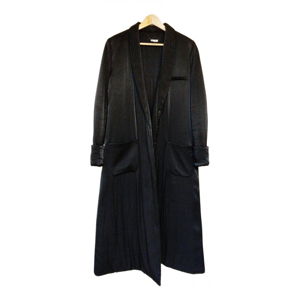Reformation N Black Wool coat for Women S International