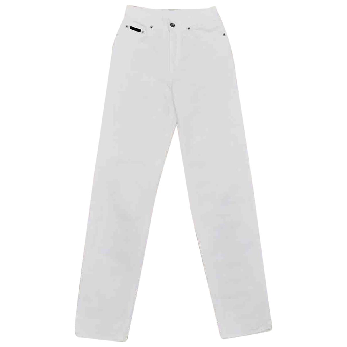 Calvin Klein N White Denim - Jeans Jeans for Women 32 US