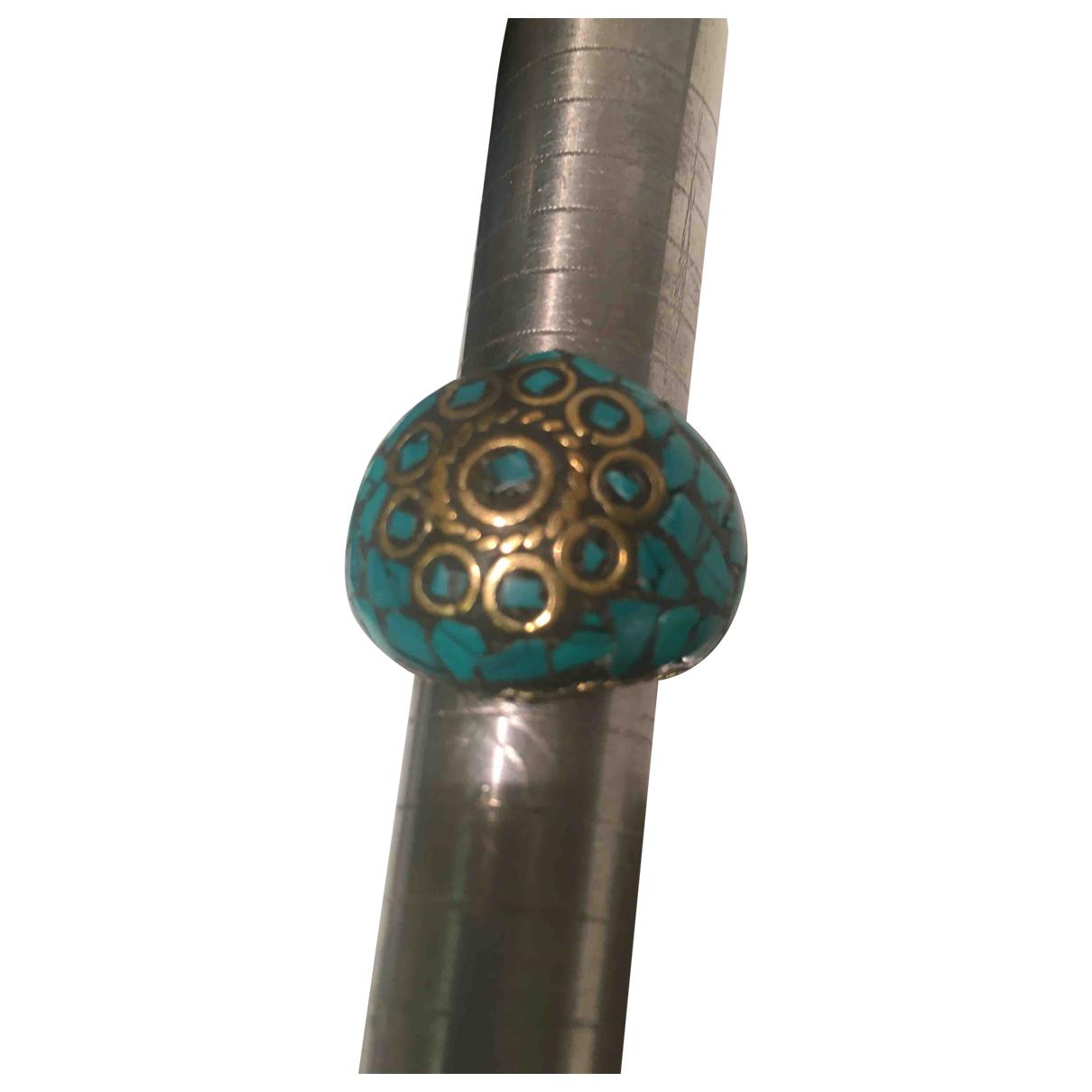 - Bague Turquoises pour femme en metal - turquoise