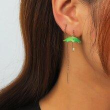 Ohrringe mit Regenschirm Design