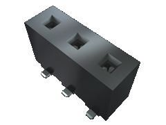 Samtec , HPF 5.08mm Pitch 6 Way 1 Row Vertical PCB Socket, Through Hole, Solder Termination (18)