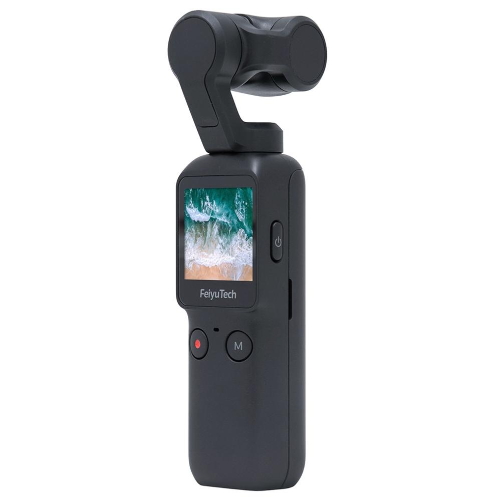 Feiyu Pocket 4K Camera 120 Degree 6-Axis Stabilized Handheld Gimbal Autofocus Touchscreen Built-in Wi-Fi