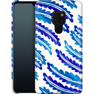 Huawei Mate 20 Smartphone Huelle - Fern Leaf Navy von Cat Coquillette